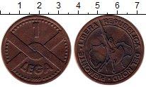 Изображение Монеты Италия 1 лега 1992 Бронза XF