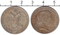 Изображение Монеты Австрия 20 крейцеров 1848 Серебро XF