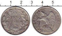 Изображение Монеты Чили 1 песо 1915 Серебро XF-