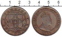 Изображение Монеты Ямайка 1 пенни 1910 Медно-никель VF