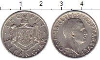 Изображение Монеты Албания 1 франк 1935 Серебро XF