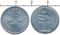 Изображение Монеты Франция Новая Каледония 50 сантим 1949 Алюминий UNC-