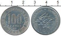 Изображение Монеты Камерун 100 франков 1975 Медно-никель XF