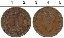 Изображение Монеты Белиз 1 цент 1949 Бронза XF