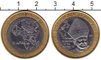 Изображение Монеты Габон 4500 франков 2007 Биметалл UNC-