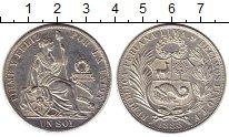 Изображение Монеты Перу 1 соль 1888 Серебро XF