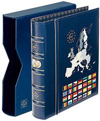 Изображение Аксессуары для монет Optima Альбом Euro-Classic для монет в футляре (341306) 0