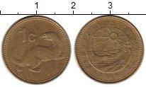 Изображение Монеты Мальта 1 цент 1986 Латунь XF