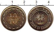 Изображение Монеты Бахрейн 10 филс 2000 Латунь UNC-