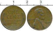 Изображение Монеты США 1 цент 1944 Бронза XF