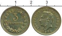 Изображение Монеты Сальвадор 3 сентаво 1974 Латунь UNC-