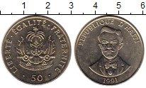 Изображение Монеты Гаити 50 сентим 1991 Медно-никель UNC-