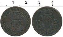 Изображение Монеты Германия Мюнстер 3 пфеннига 1736 Медь VF