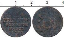 Изображение Монеты Германия Анхальт-Бернбург 1 пфенниг 1757 Медь VF