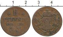 Изображение Монеты Германия Майнц 2 пфеннига 1768 Медь VF
