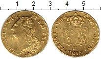 Изображение Монеты Франция 2 луидора 1786 Золото UNC-
