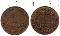 Изображение Монеты Германия Саксен-Кобург-Готта 1 пфенниг 1856 Медь VF