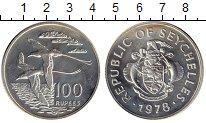Изображение Монеты Сейшелы 100 рупий 1978 Серебро Proof-