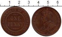 Изображение Монеты Австралия 1 пенни 1920 Бронза XF