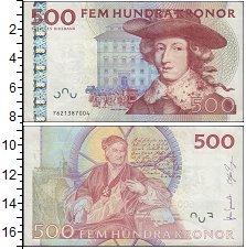 Изображение Банкноты Швеция 500 крон 2001  XF