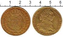 Изображение Монеты Испания 1 песо 1788 Золото XF-