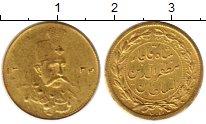 Изображение Монеты Иран 1 песо 1323 Золото XF