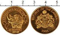 Изображение Монеты Гамбия 20 даласи 1995 Золото Proof-