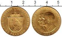 Изображение Монеты Лихтенштейн 50 франков 1956 Золото UNC