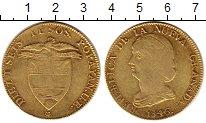 Изображение Монеты Колумбия 16 песо 1846 Золото XF-