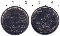 Изображение Монеты Бразилия 50 крузейро 1985 Медно-никель UNC
