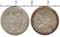 Изображение Монеты Панама 1/10 бальбоа 1962 Серебро XF