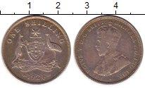 Изображение Монеты Австралия 1 шиллинг 1926 Серебро VF