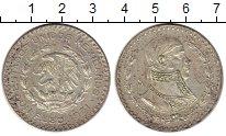 Изображение Монеты Мексика 1 песо 1961 Серебро XF