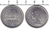 Изображение Монеты Сен-Пьер и Микелон 2 франка 1948 Алюминий UNC