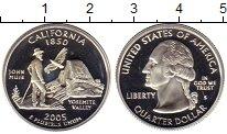 Изображение Монеты США 1/4 доллара 2005 Серебро Proof-