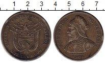 Изображение Монеты Панама 50 сентесим 1904 Серебро VF