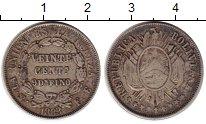 Изображение Монеты Боливия 20 сентаво 1883 Серебро XF-