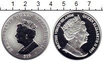 Изображение Монеты Виргинские острова 10 долларов 2017 Серебро Proof