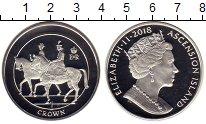 Изображение Монеты Остров Вознесения 1 крона 2018 Серебро Proof