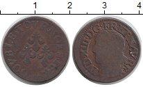 Изображение Монеты Франция 2 турнуа 1643 Медь VF