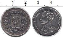 Изображение Монеты Франция 1 франк 1831 Серебро XF