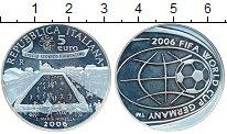 Изображение Монеты Италия 5 евро 2006 Серебро Proof-
