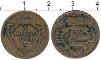 Изображение Монеты Италия Гориция 1 сольдо 1788 Медь XF-