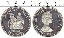 Изображение Монеты Белиз 25 долларов 1978 Серебро Proof-
