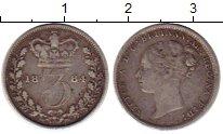 Изображение Монеты Великобритания 3 пенса 1884 Серебро VF