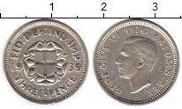 Изображение Монеты Великобритания 3 пенса 1939 Серебро XF