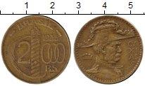 Изображение Монеты Бразилия 2000 рейс 1938 Латунь XF