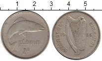 Изображение Монеты Ирландия 1 флорин 1935 Серебро XF