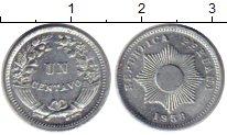Изображение Монеты Перу 1 сентаво 1958 Цинк UNC-