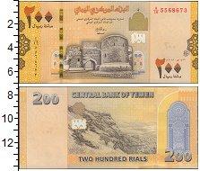 Изображение Банкноты Йемен 200 риалов 2018  UNC
